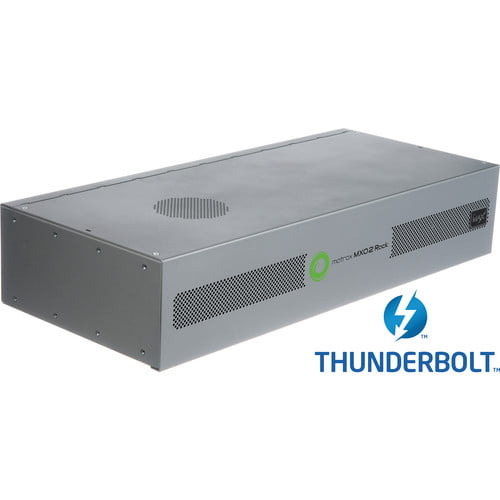 MXO2 Rack com MAX (Thunderbolt)
