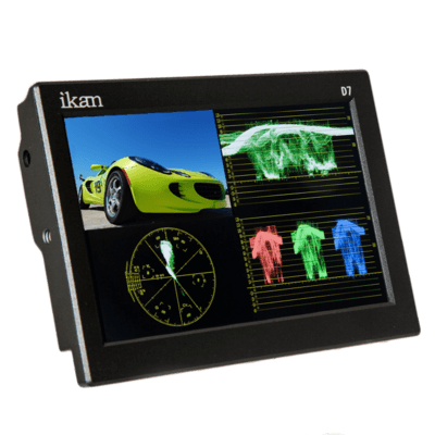 Waveform Ikan D7w 3G-SDI com Painel IPS e Monitor LCD
