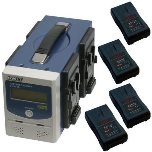 Kit de Bateria Swit D-811S (V-Mount)