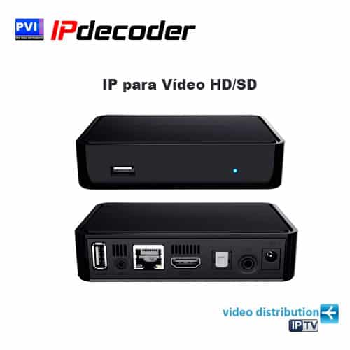 IP para Vídeo HD/SD