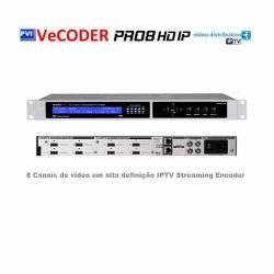 VeCOAX PRO8 HD IP Encoder de vídeo IPTV ProVideoInstruments