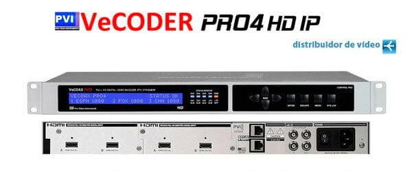 VeCODER PRO4 HD IPTV Encoder