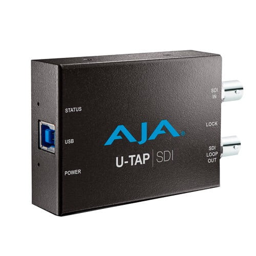 AJA-U-TAP-USB-3.0-Powered-SDI-Capture-Device