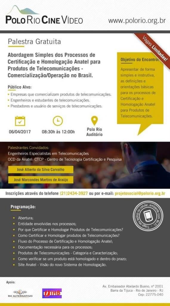Abordagem Simples dos Processo de Certificação e Homologação Anatel para Podutos de Telecomunicações