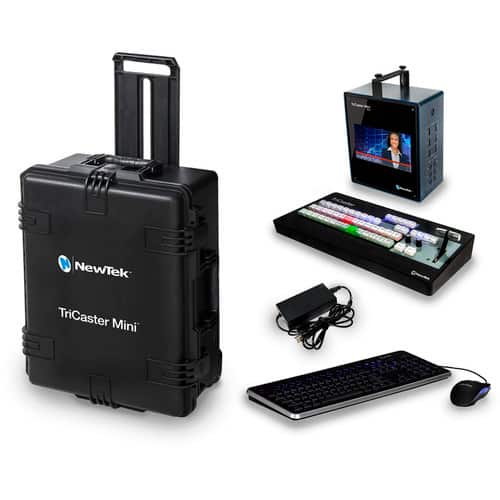 NewTek-TriCaster-Mini-HD-4sdi-Bundle-with-Control-Surface-and-Travel-Case