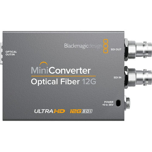 Blackmagic Design Mini Converter Optical Fiber 12G-SDI