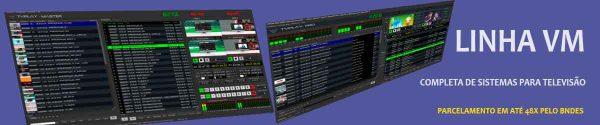 exibidores de video e sistemas produzidos pela videomart Broadcast